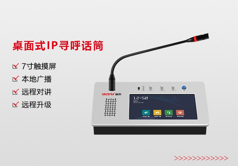 四川桌面式IP寻呼话筒